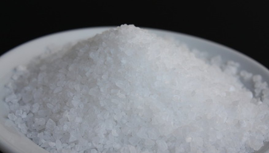 Ordinary salt can be used to separate hand sanitisers such as Purell.