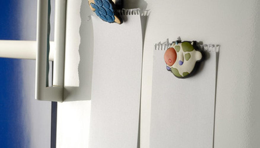 Sometimes a high-pitched refrigerator sound is due to objects on it vibrating.