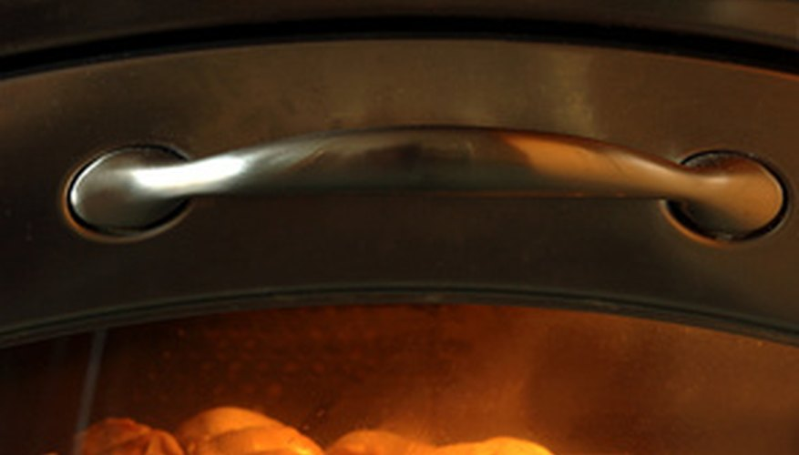 Gas oven.