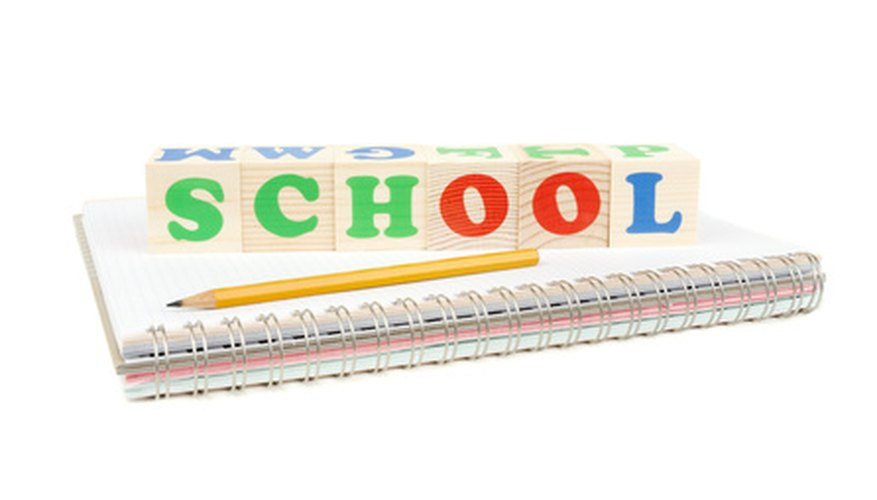 School can take place in a building, at home or anywhere.