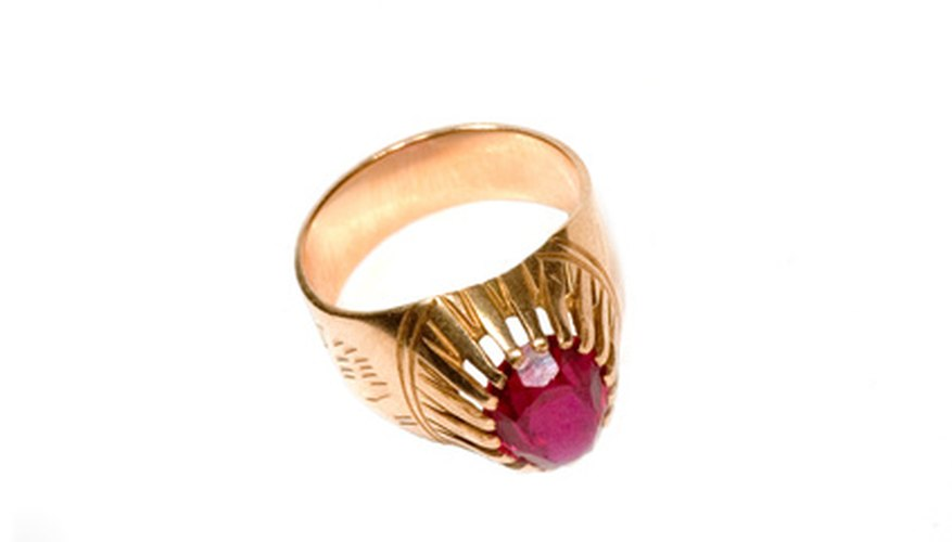 Rubies can have great value.