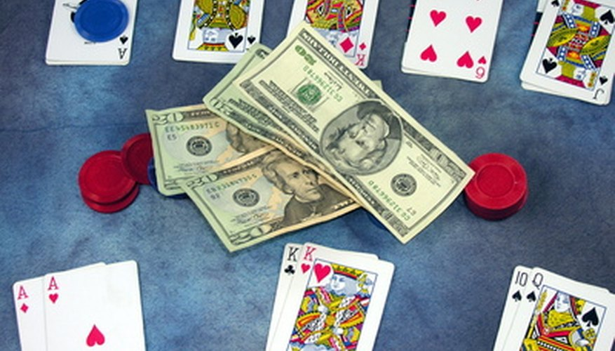 Gambling goes hand-in-hand with a Vegas-style party.
