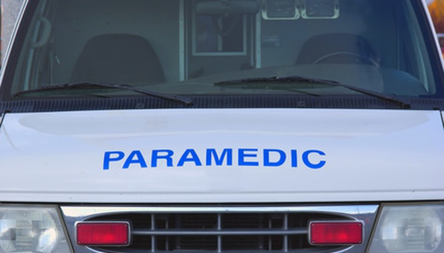 Paramedics need to be highly skilled at dealing with emergency medical situations.