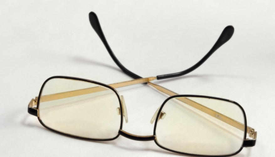 Tint can be removed from some types of lenses.