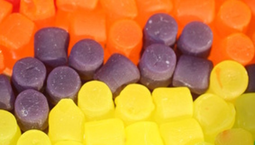 Learn how to dissolve hard candy.