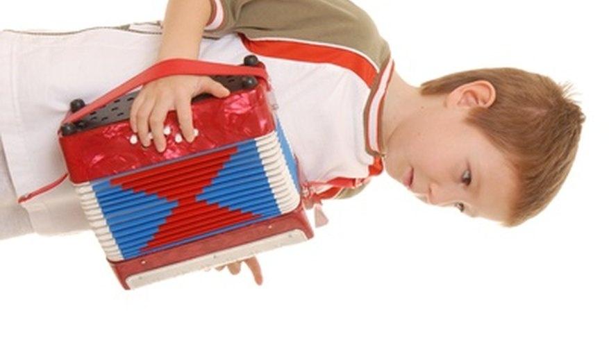 Toy accordions are also called button accordions.