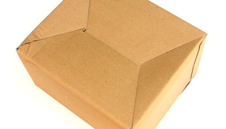 Cardboard is a heavy-duty material with many uses.
