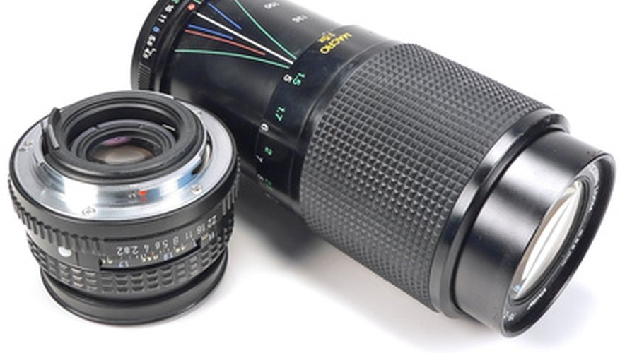 Yashica manufactured zoom and non-zoom lenses like the ones pictured here.