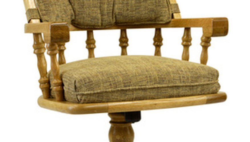 Oak has been a favoured wood for furniture for many years.