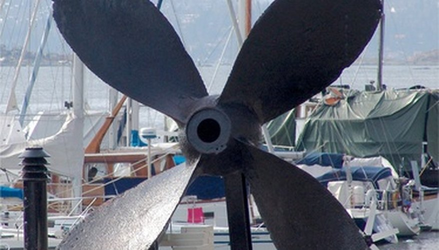 Measuring the taper of a propeller shaft involves calculating its slope ratio.