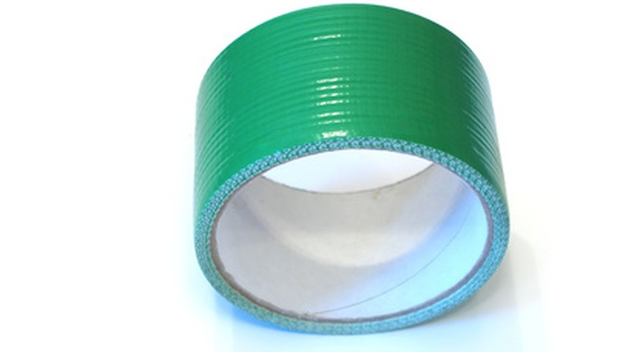 Use coloured duct tape for craft projects.