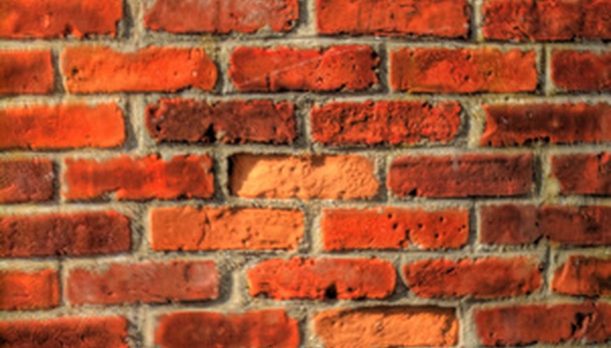 Clean your old brick walls to remove dirt, dust and build-up.