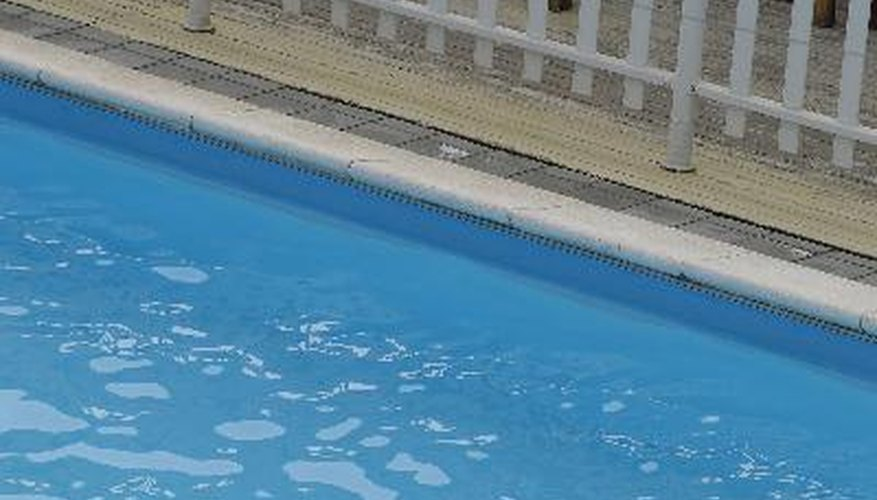 Pools with high levels of copper metal can discolour swimmers' hair.