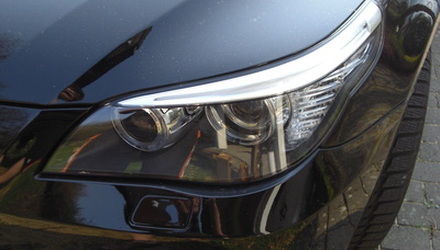 BMW headlights should be checked regularly.