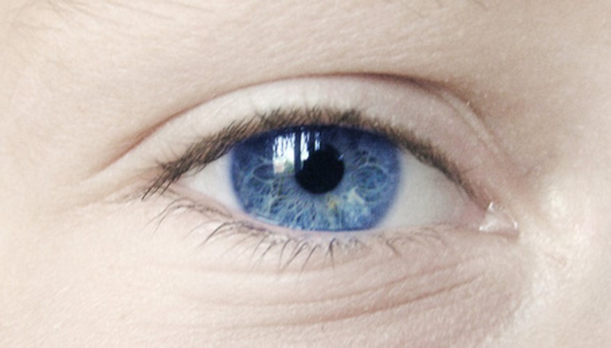 Becoming an eye model is competitive.