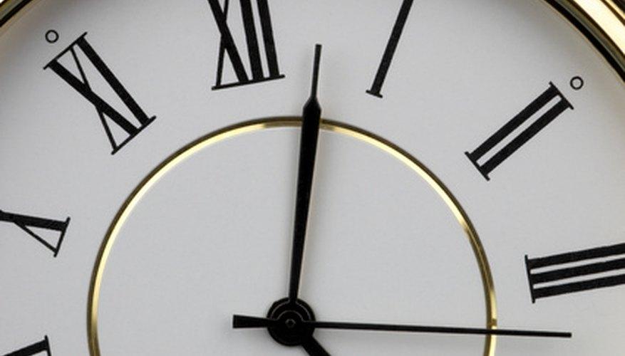 Restoring clock dials takes several steps.