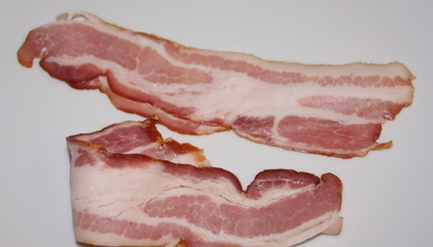 Bacon grease can seep through normal parchment paper.