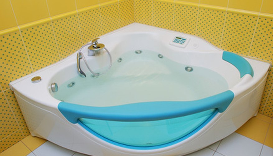 A bathtub looks much more inviting with a bright, white tub surround.