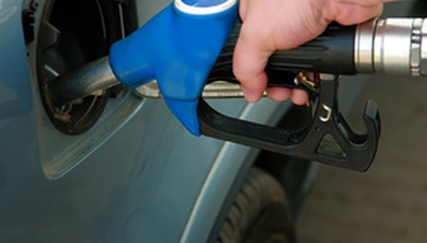 A few drops of petrol from the pump can quickly stain leather boots.