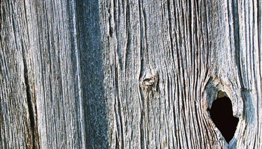 Barn wood adds a rustic feel to your decor.