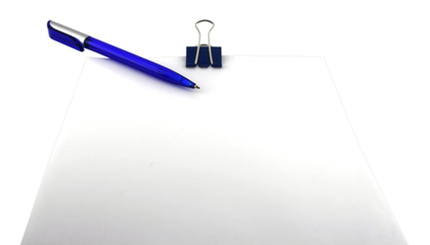 Drafting a business reply
