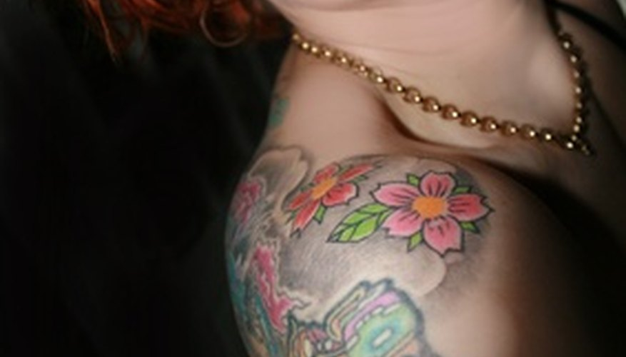 Tattoos can lead to eczema flare-ups in people with the condition.