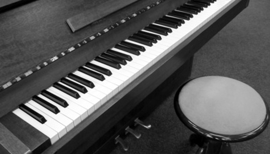 Give your piano stool a new look.