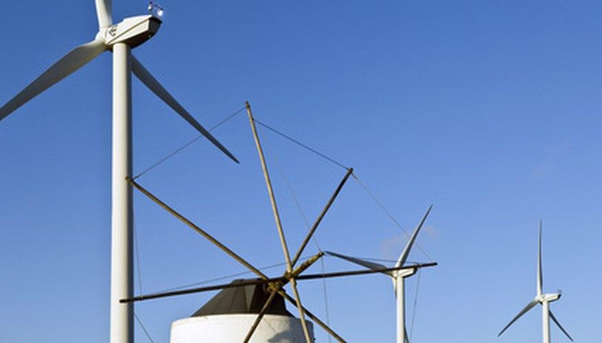 La energía eólica es una manera de sacar provecho de la influencia de la naturaleza.