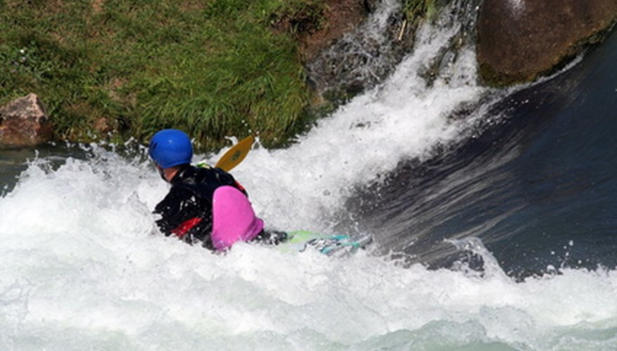 Kayak emergency procedures assist paddlers in a dangerous situation.
