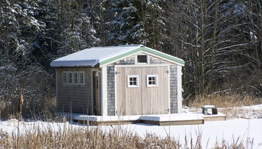Adding power to a shed need not be difficult.