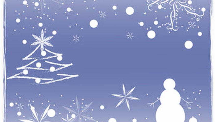 Christian churches hold annual Christmas programs.