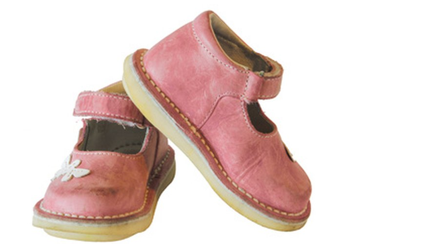 Keeping your child's shoes clean may require special care.
