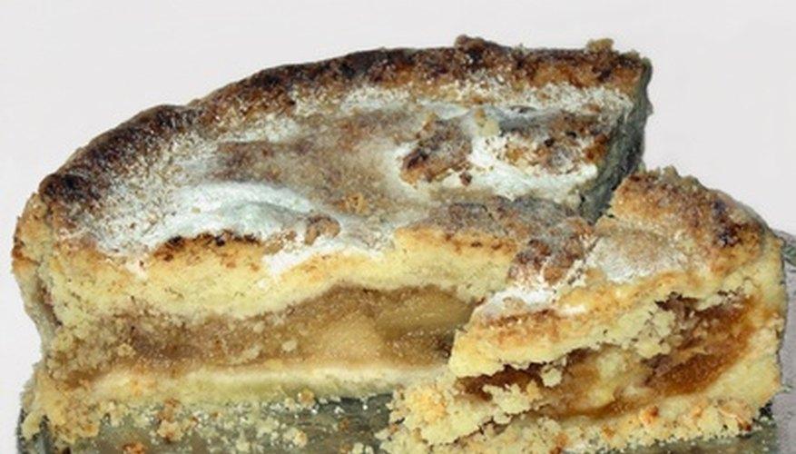 Homemade pies make a delicious dessert.