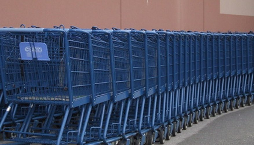A replenisher ensures there is a full amount of stock in a store.
