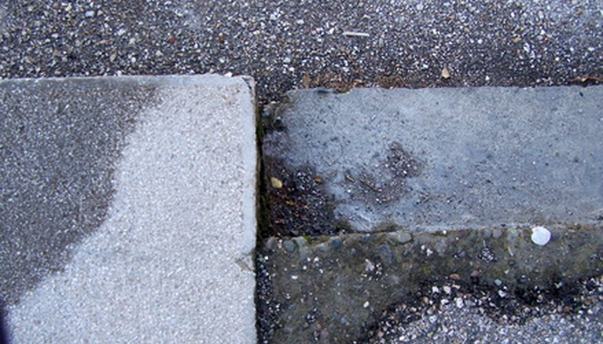 A building's foundation is set atop footings, which can help determine the depth and width of a foundation.