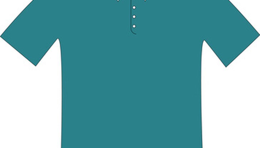 Iron polo shirts to keep the collar looking neat and crisp.