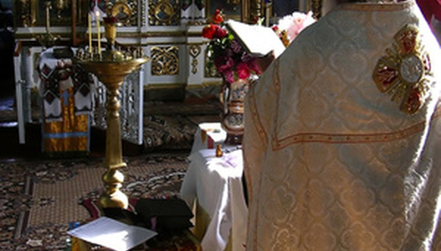 Most priests no longer wear an amice.