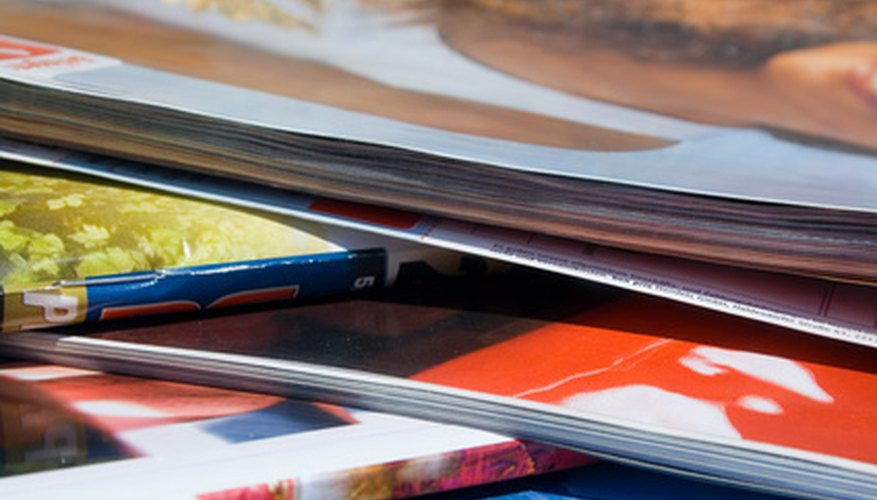 Magazine publishers rely on several different types of ads.