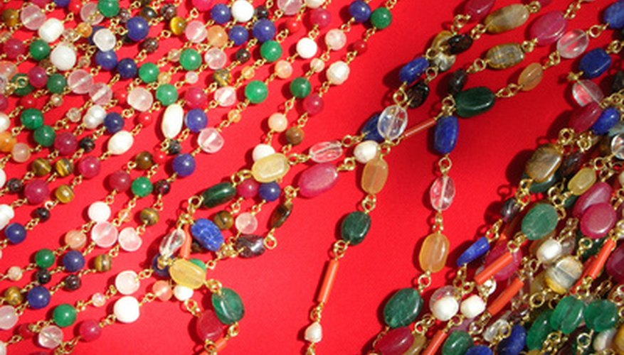 Of the many types of necklace clasps, barrel clasps are the most popular.