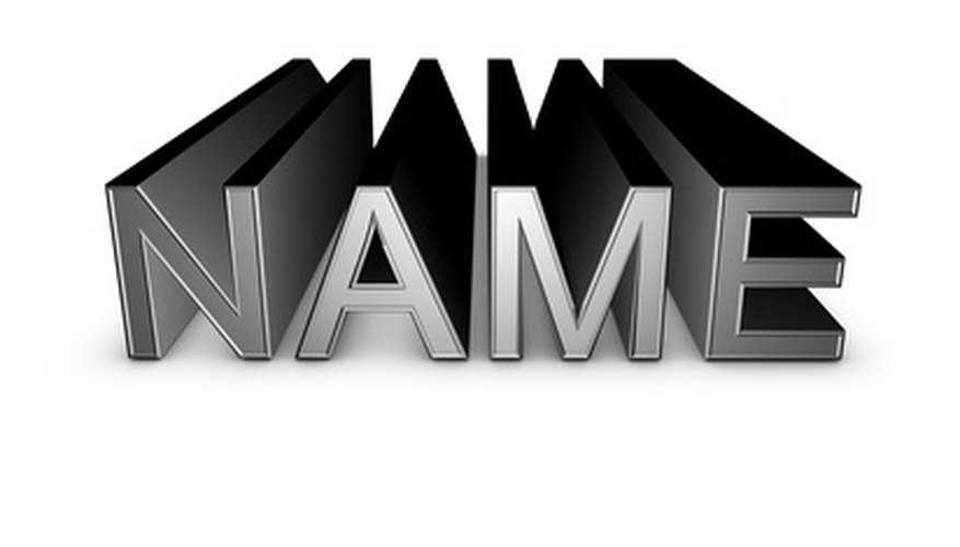 Find meanings of names.