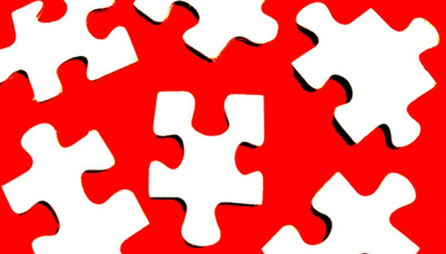 You can customise jigsaw puzzles for any project in Microsoft Word.