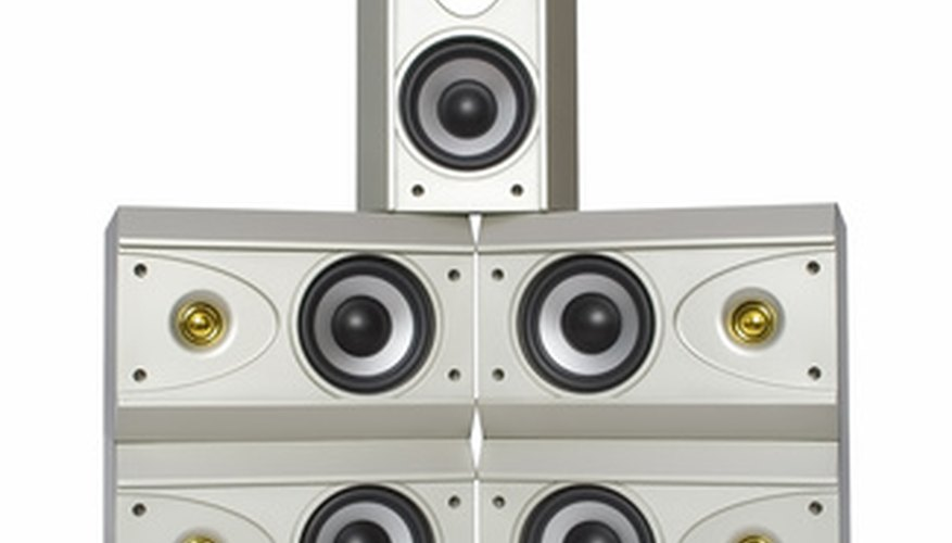 Speakers depend upon stereo receivers for input.
