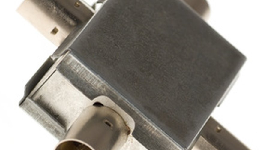 A coaxial splitter is useful in many situations.