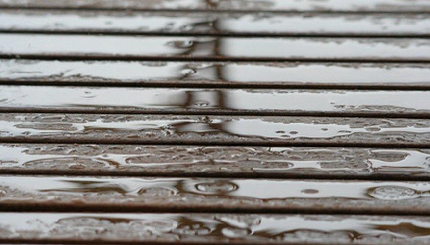 Paint teak wood to make it look prettier.