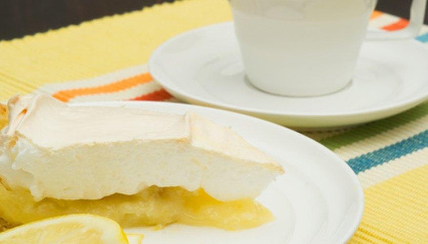 Although not reccommended, lemon meringue pie can be frozen.