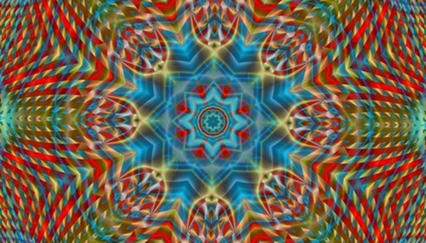 Make a 3-D kaleidoscope without mirrors.