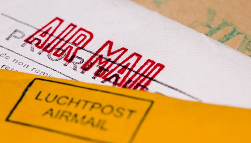 Correctly marking your envelope will ensure its prompt delivery to your destination.