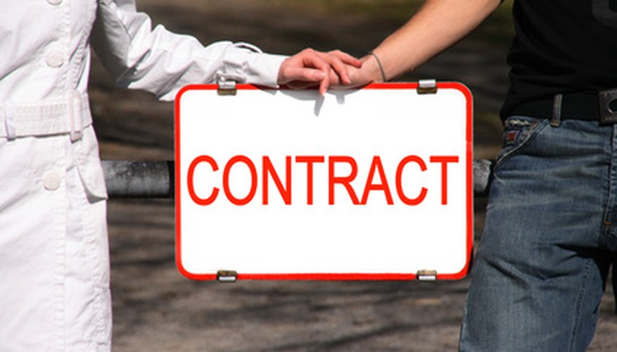 The wording of your marital contract can have serious repercussions.