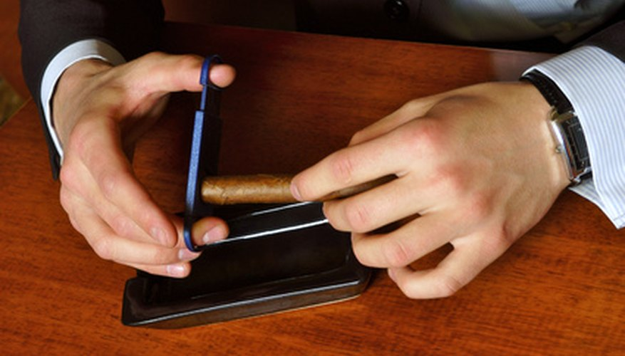 Cigars come in different flavours, depending on the brand.