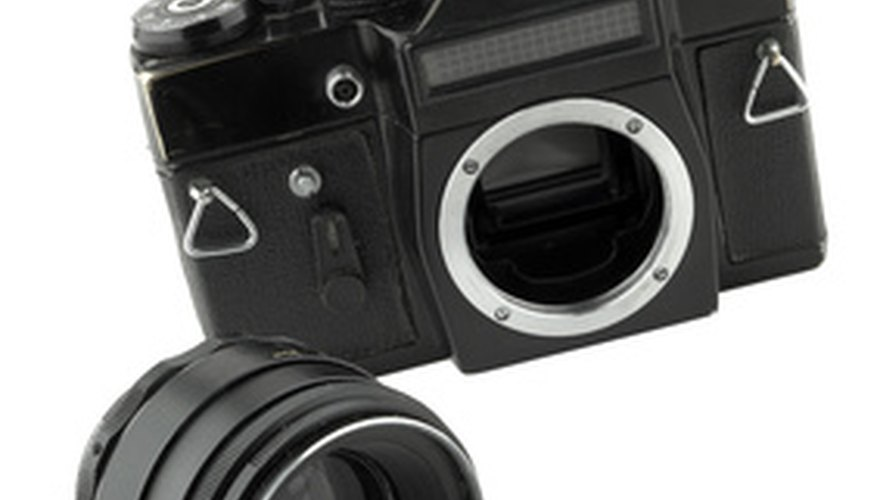Replacing a focus screen on an SLR camera requires concentration, patience and a steady hand.
